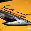 Mente Esportes de personalização Na Sobrancelha Lâmpada Car Acessórios Do Carro Etiqueta Do Carro-Styling Para nissan juke