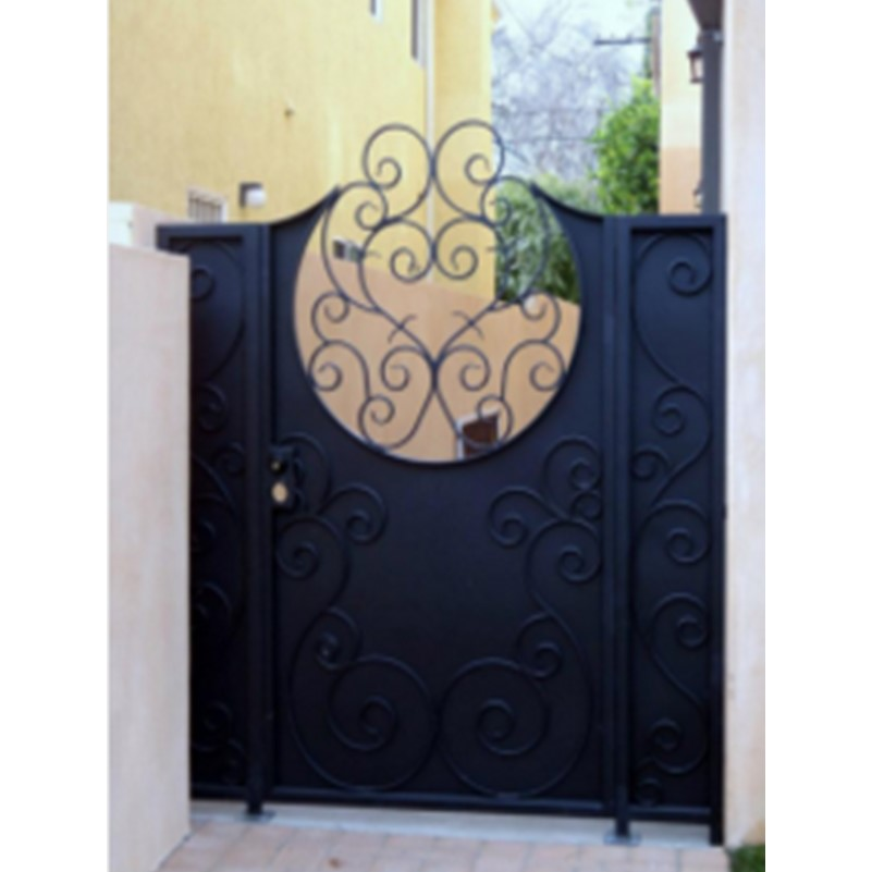 Expanded Metal Mesh For Gates House Metal Front Door Gates Iron Gates Design Fencing And Gates Hench-g3