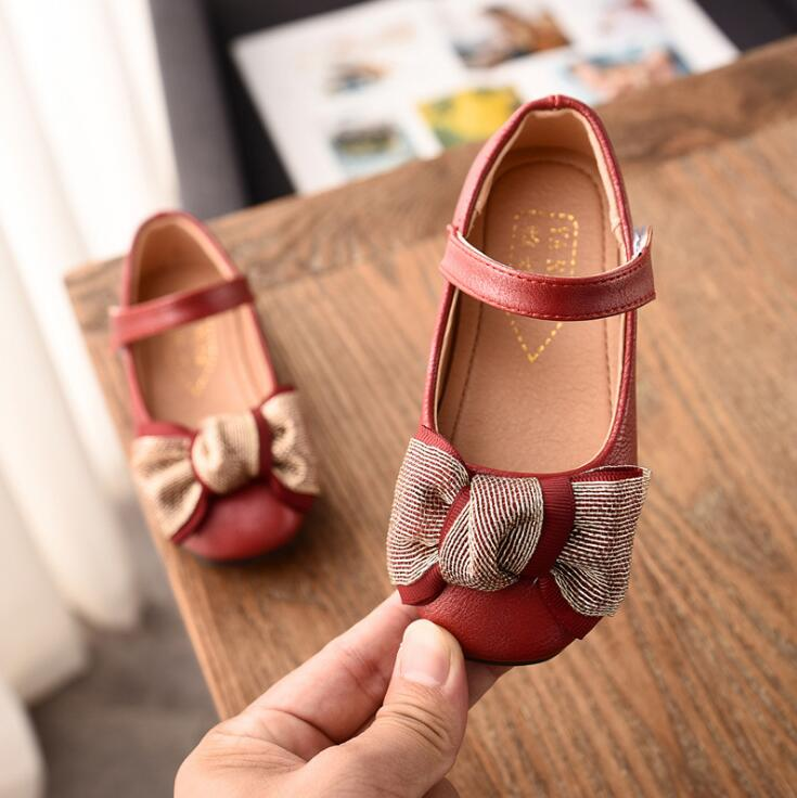Detail Feedback Questions about Spring autumn Big Children girl PU Bling  bowknot shoes Girls Shoes Flat casual princess Shoes 3colors 31 36 1806  TX07 on ... dcb8972e6475