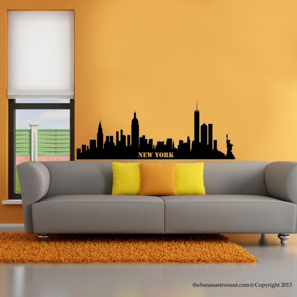 Fine New York Cityscape Wall Art Ensign - Art & Wall Decor ...