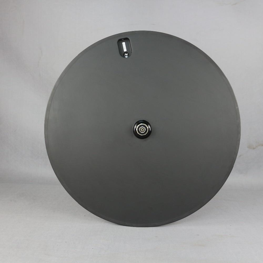 Roue de disque de vélo de piste arrière SERAPH roues de carbone de route roues de disque de carbone arrière de vélo à engrenages fixes