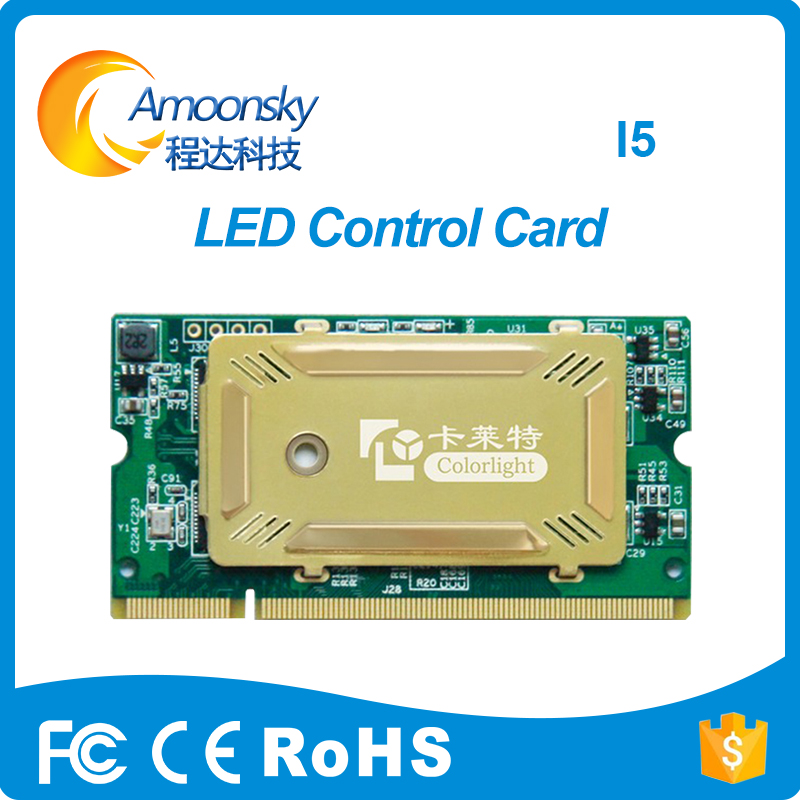 new design led display synchronous control card colorlight i5 full color receiving card