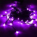 5.2 M Solar Powered Colorida Luz de la Secuencia de Hadas de Luz 50 LED 1.5 W Led Luz Al Aire Libre Jardín Patio Camino Del Partido de Chirstmas Decoración lámpara
