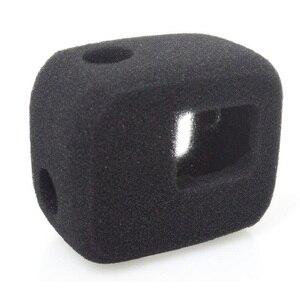 Image 1 - Pesce pagliaccio per Gopro custodia antivento parabrezza parabrezza parabrezza copertura telaio spugna HERO 5/6/7/8 accessori fotocamera nera