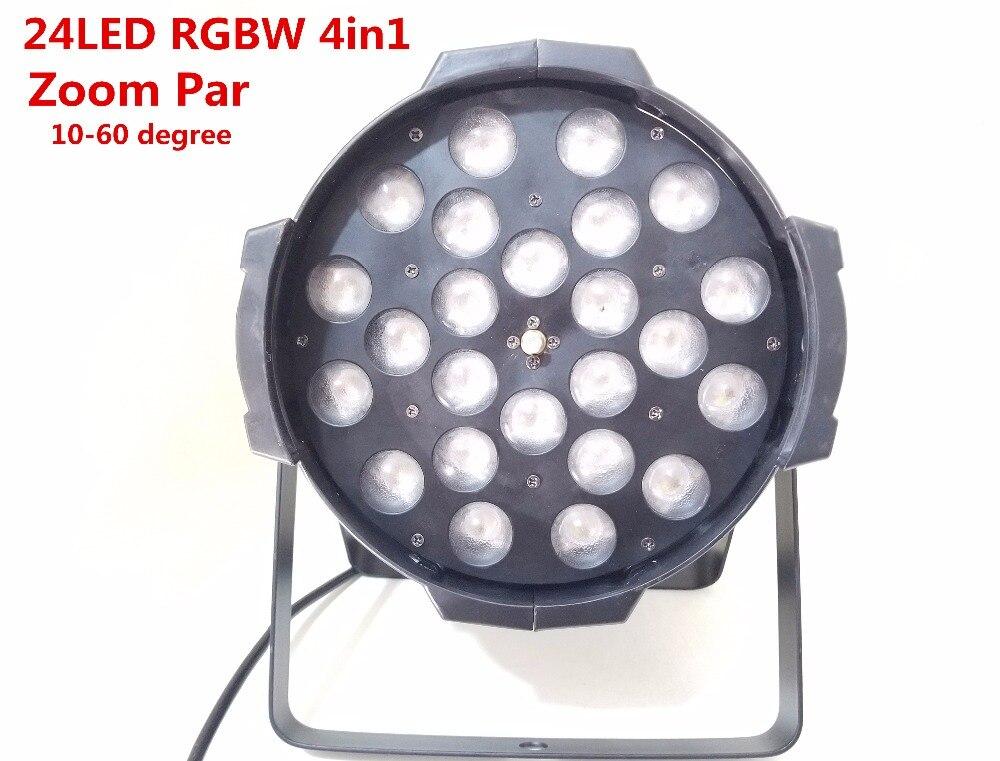 4pcs LED zoom par light 24x12W  rgbw 4in1 led par light dj dmx Controller  lights  dmx dj light  zoom 10-60 degree4pcs LED zoom par light 24x12W  rgbw 4in1 led par light dj dmx Controller  lights  dmx dj light  zoom 10-60 degree