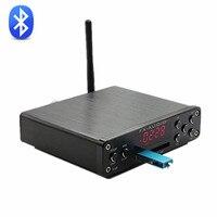 2017 FX-Audio M-160E Bluetooth@4.0 Numérique Audio Amplificateur Entrée USB/SD/AUX/PC-USB Loseless Lecteur APE/WMA/WAV/FLAC/MP3 160 W * 2