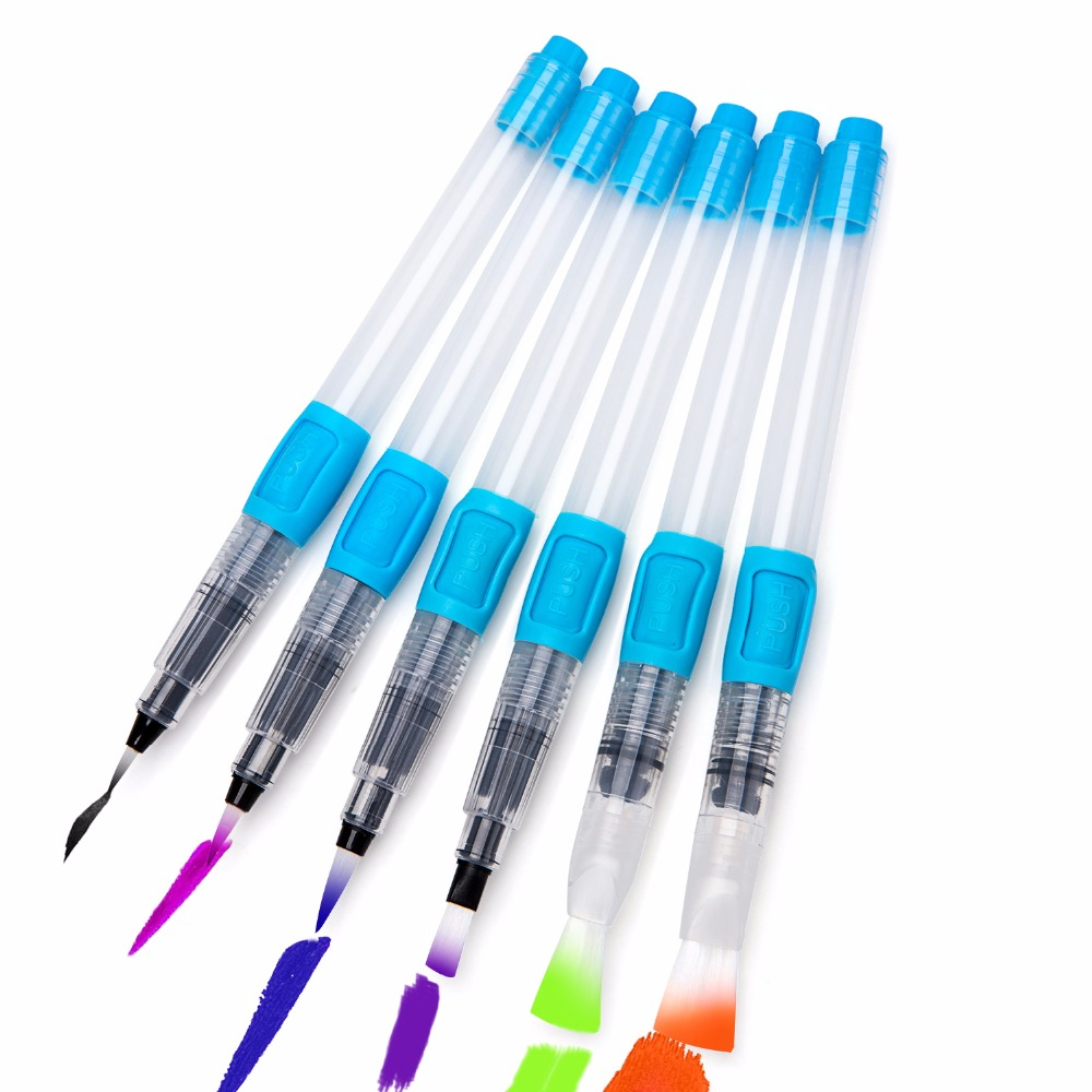 bianyo 6pcs water brush