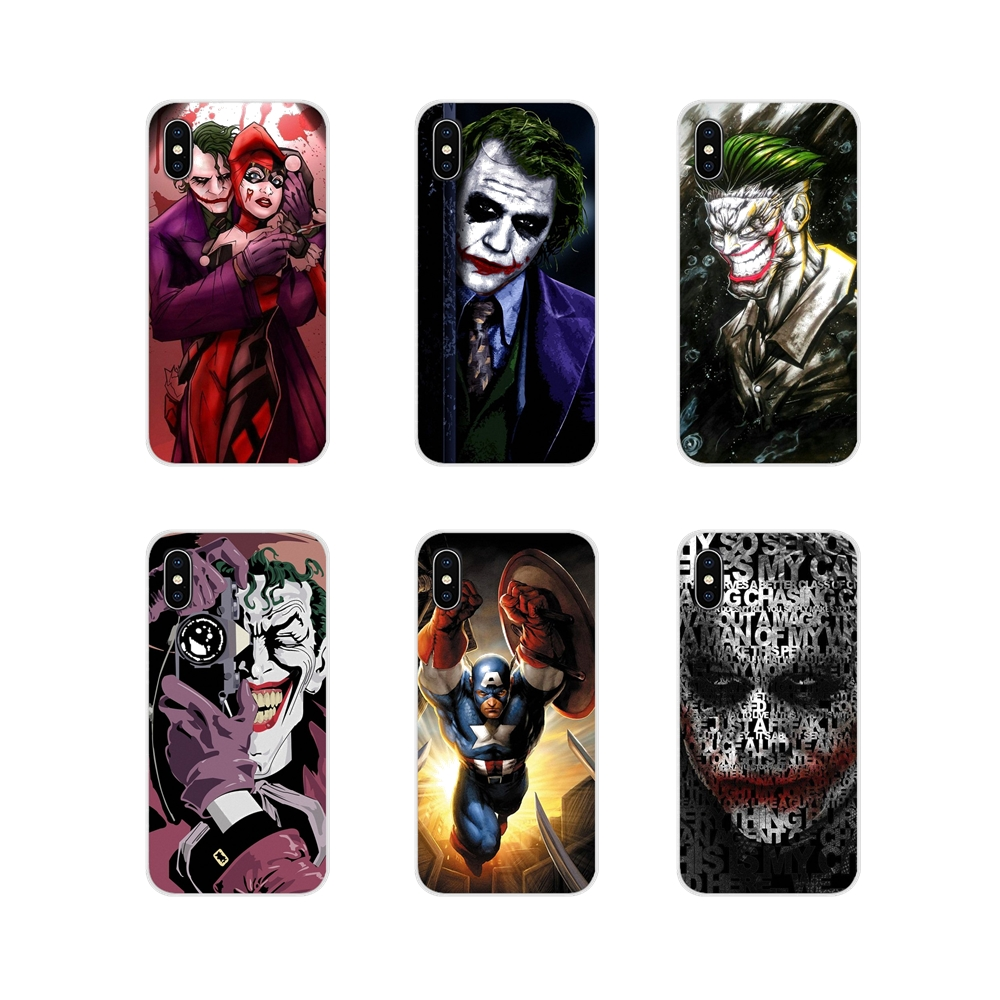Joker Batman The Killing Joke Black For Samsung Galaxy A3 A5 A7 A9 A8 Star A6 Plus 2018 2015 2016 2017 Transparent TPU Cover Bag image