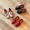 Party girls shoes дети дети платье девушка принцесса кожаная обувь детские весна осень размер 26 ~ 36 для 3 ~ 15 год мода 2017 KK17