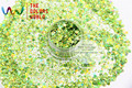 HA2104-277 Смешанные Лазерной Голографической Яблоко Зеленого Цвета Форме Шестиугольника Блеск Блестки для ногтей гелем и DIY украшения Праздника