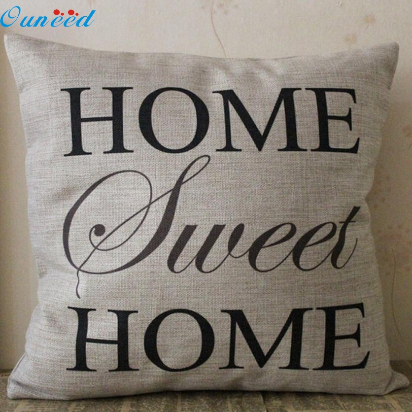 Homey Design Square Pillow Cover Cushion Case Toss Pillowcase Hidden Zipper Closure Decoration Pillowcase JA1