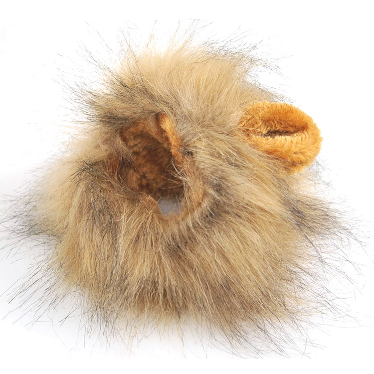 Lion Hair Costume for Cats & Dogs