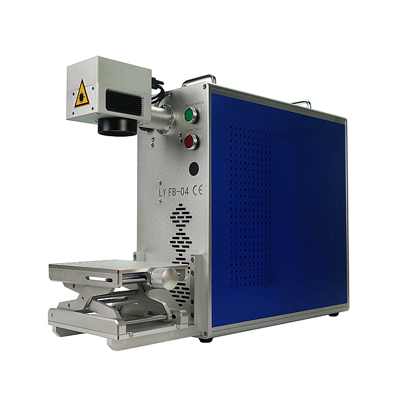 LY FB04 20W Optical Fiber Laser Engrave Making Mobile Back Cover Frame Separator Separating Machine For Phone
