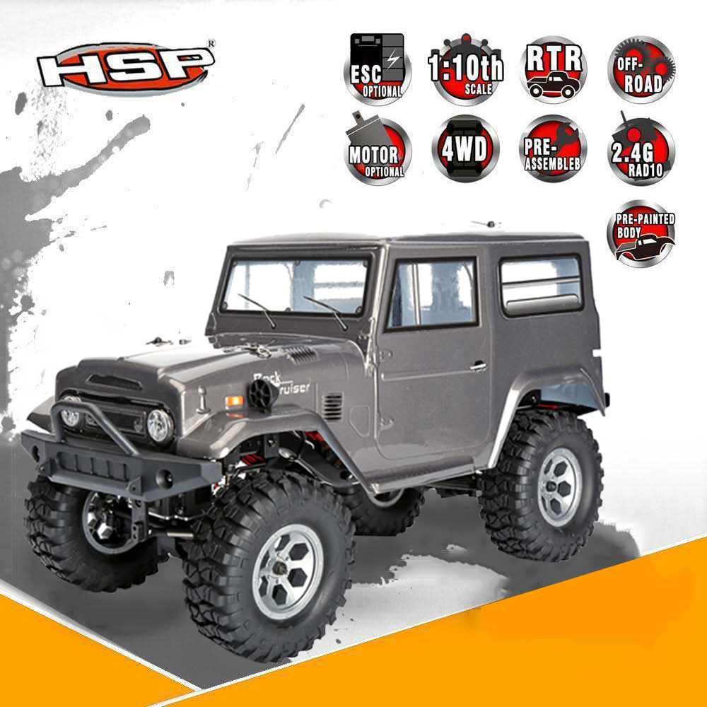 HSP RGT 136100 RC Racing Car 1:10 Scale 4wd Off Road Rock Crawler Climbing High Speed Hobby Electric Boy's Remote Control Car hsp 94180 1 10th scale rc car 4wd electric powered off road rc crawler 2 4g climbing truck car p3