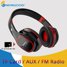 5d53222b946 Sport bluetooth headphone noise cancelling wireless headphones handsfree bluetooth  headphone with mic sd tf card slot