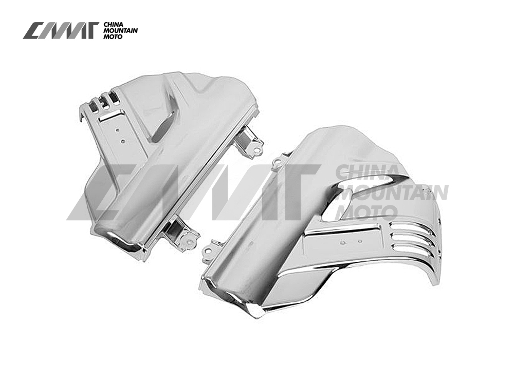 Хром переднее крыло крышки чехол для Honda GL1800 ГОЛДВИНГАХ 2006-2011 07 08 09 10