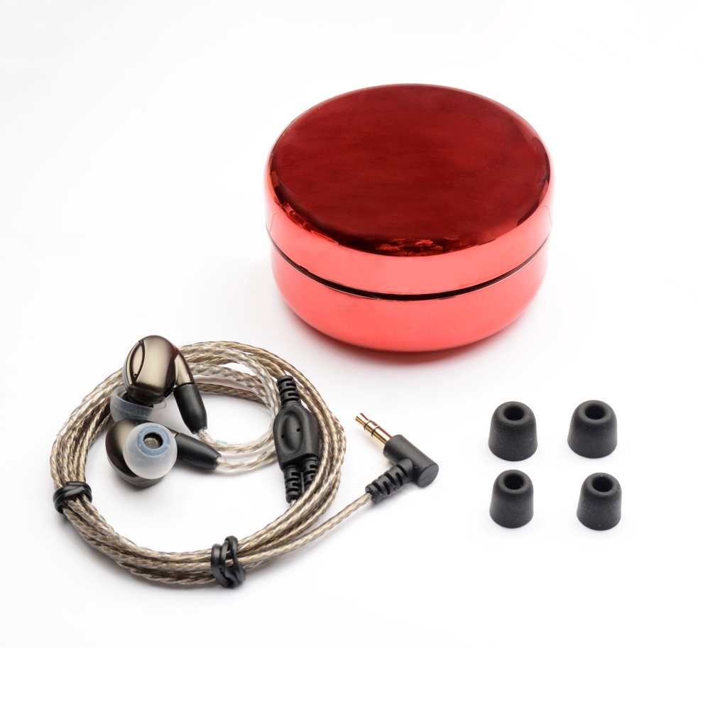 Nuovo K3 Pro In Trasduttore Auricolare Dell'orecchio 2BA 1DD Ibrido con Dynamic 3 Unità Auricolari Interfaccia MMCX Noise Cancelling Auricolare per iPhone xiaomi - 2