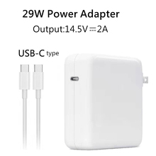 Youpin 29W 14.5V 2A USB-C Power Adapter Type-C PD Charger For Latest Macbook Pro 12-inch A1534 1540 1646 Made in 2015