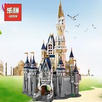Лепин 16008 создатель волшебный дворец Романтический замок Совместимость Legoinglys друзей 71040 большой строительные блоки Дети дизайнер