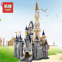 lepin 16008 Creator the Magical Palace Romantic Castle Compatible Legoinglys Friends 71040 Large Building Blocks Kids Designer
