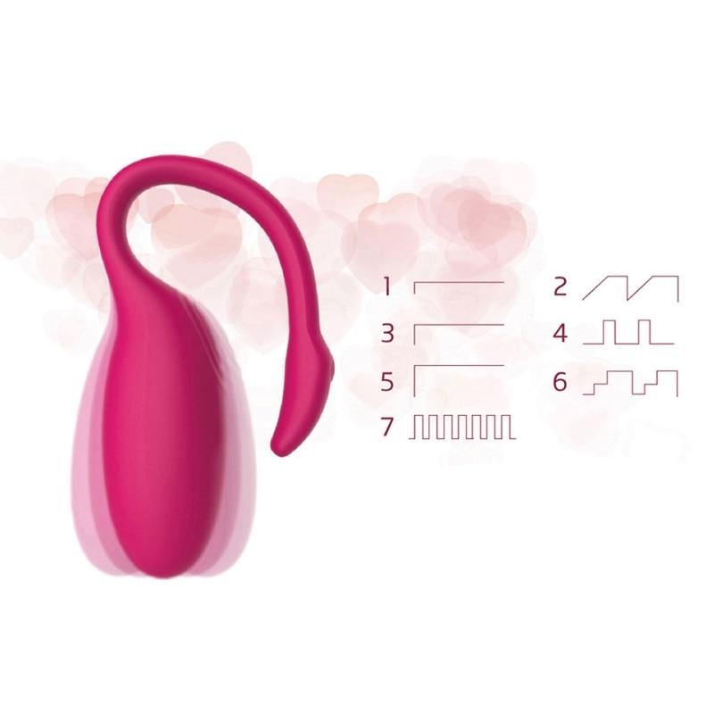 Nouveau Bluetooth Intelligente Vibrateur Masseur Télécommande App Avec stimulation du point G Orgasme Sexuel ABS Sex Toys Pour Femme