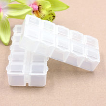 1PC Storage Bottles & Jars Travel Vacations pills Jewelry Necklace Electronic materials and accessories Box V22
