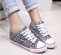 2015 new canvas shoes casual student movement leopard woman shoes breathable tendon at the end vulcanized shoes, free postage