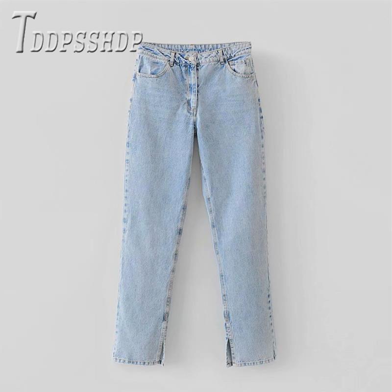 2019 High Waist Slim Women Jeans Fashion Trendy Female Denim Pants