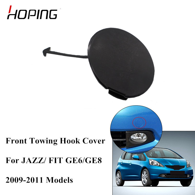 New Genuine Honda Fit Front Bumper Tow Hook Cover Towing Eye OE 71104TK6A00ZG