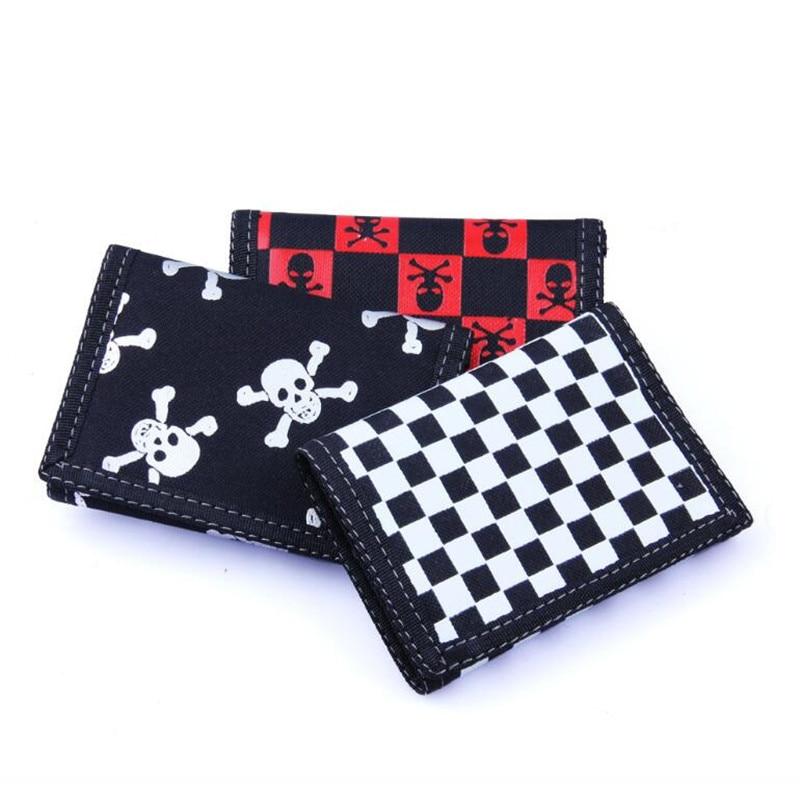 New Large Capacity Fashion Men Wallets Long Canves Wallet Men Zipper Clutch Coin Purse Male Wristlet Tri-fold Wallet 10 Color