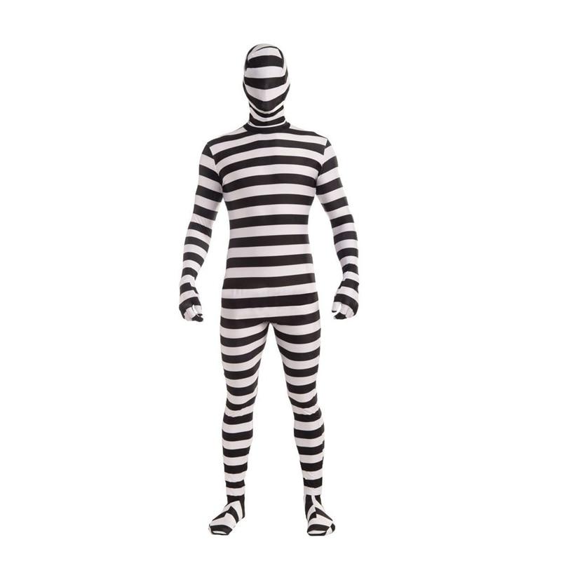 Black And White Prisoner Costume