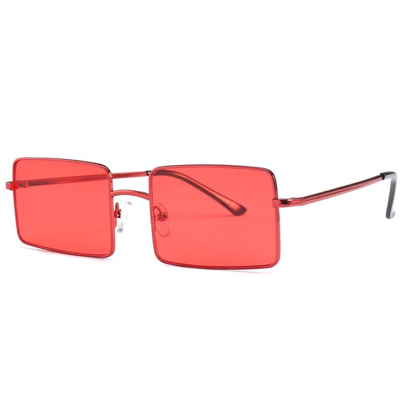 Vintage Square Sunglasses Women Men's Brand Designer Eyewear for Outdoor Ladies Sun Glasses Goggles Oculos UV400 Gafas 18928DF 2