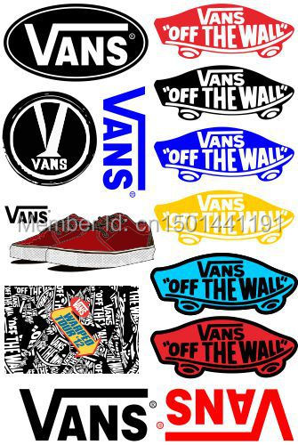 pegatina vans of the wall