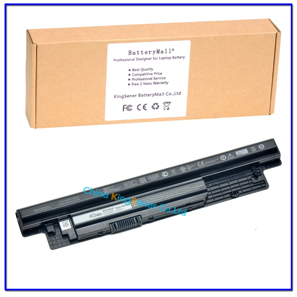 ФОТО Korea Cell Genuine XCMRD Laptop Battery for DELL Inspiron 3421 3721 5421 5521 5721 3521 XCMRD MR90Y 40WH Free 2 years Warranty