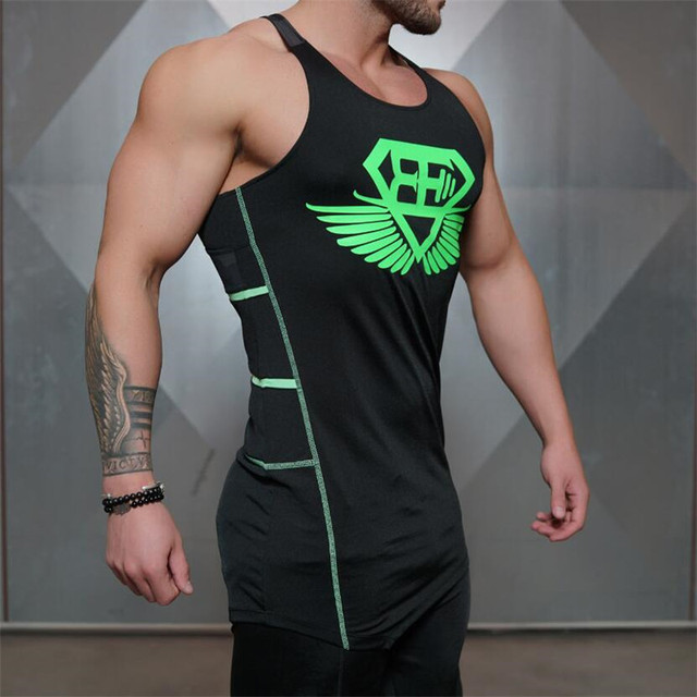 019d3fa3a0e 2017 New Gyms Body engineers Brand vest bodybuilding clothing and fitness  men undershirt tank tops tops golds men undershirt