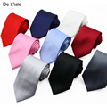 Brand New Classic 8.5cm Handmade Jacquard Necktie Nano Waterproof Business Party Gift Packing