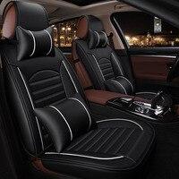 Geeaok 2018 новый стиль кожа универсальное автокресло Чехлы для VW Passat Kia Lada grand vitara форд фокус 3 Skoda авто тюнинг автомобилей