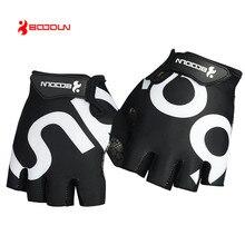 BOODUN новые мужские/женские велосипедные перчатки половина пальца спортивные велосипедные перчатки дышащая гелевая подкладка MTB дорожные велосипедные перчатки ciclismo luvas