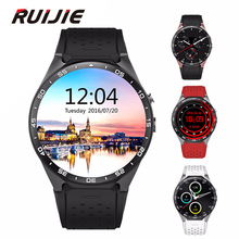 Kingwear KW88 Android 5.1 OS Smart Watch Phone 1,39 Zoll 400*400 Bluetooth Smartwatch Unterstützung 3G WCDMA Nano SIM Wifi Herz Rate