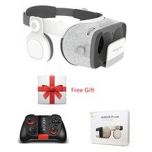 Bobovr Z4 обновление Bobo VR Z5 120 FOV 3D картонный шлем виртуальной реальности Очки стерео гарнитура коробка для 4.7- 6.2 'мобильный телефон