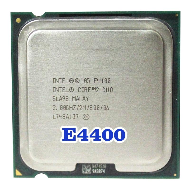 Original INTEL  Core 2 Duo E4400   Socket  LGA 775 CPU Processor (2Ghz/ 2M /800MHz) 65W