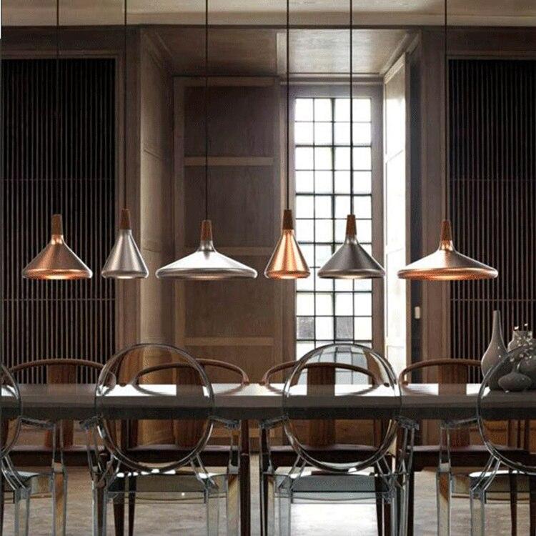 Lustre de concepteur minimaliste moderne, lampes de cuisine de chevet de barre de lumière de restaurant de mode de lustre nordique