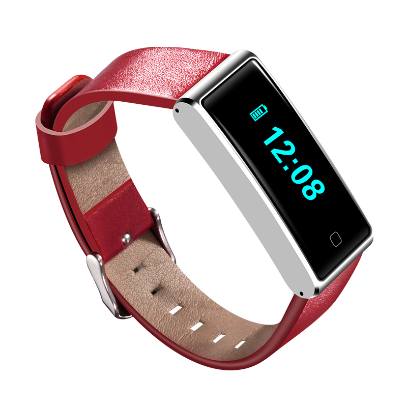 QS60 Waterproof Bluetooth Smart Wristband Wristwatch Support Heart Rate Breath Training Pedometer Smart Watch for Android