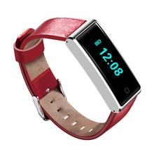 QS60 Водонепроницаемый Bluetooth Smart Браслет наручные часы Поддержка сердечного ритма дыхание Training Шагомер Смарт часы для iOS и Android