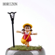 5PCS/Set Girl Fairy Garden Figurines Miniature Micro Landscape Resin Crafts Artificial Figurine Fairy Home Garden Decoration