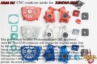 Area RC CNC ALLOY ZENOAH G320RC intake crankcase BLUE COLOR