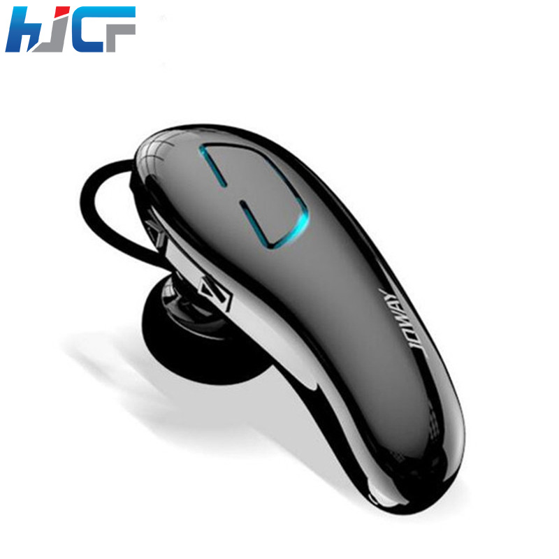 Quality HJCF Mini Bluetooth Headphone Sport Earphone Stereo Mini Wireless Headset With Mic Handsfree For Calls Mobile Phones H2 2016 new brand fashion metal bluetooth earphone hifi stereo wireless sport headset handsfree headphone with mic for mobile phone