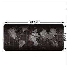 Schön Große Größe 700*300*3 MM Weltkarte Geschwindigkeit Spiel Mauspad Matte  Laptop Gaming Mousepad Schnell Benutzerdefinierte 3D Druc.