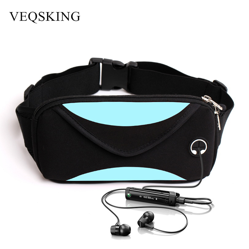 Relojes Y Joyas Dropship Unisex Waterproof Outdoor Running Waist Bag Mobile Phone Holder Jogging Belt Belly Bag Gym Fitness Bag Sport Accessory