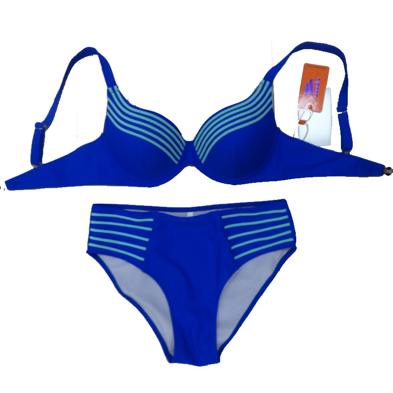 2017 Hot Solid Bikini Set Push Up Striped Swimsuit Bathing Suit  For Women Girl Swimwear Plus Size XL-4XL 10pcs lot new touch screen digitizer for 7 prestigio multipad wize 3027 pmt3027 tablet touch panel glass sensor replacement